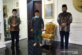Muhaimin Iskandar serahkan restu PKB kepada Haris-Abdullah Sani di Pilkada Jambi