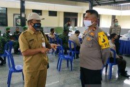 Hasil rapid test 222 personel TNI-Polri di Bangka non reaktif