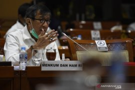 Menkumham harapkan Perppu Pilkada Serentak 2020 segera disahkan jadi UU