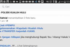 Penipu catut nama anggota DPRD Labura dan Kapolsek Kualuhhulu, minta uang anggota PPK
