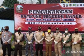 Kotabaru resmikan Kampung Tangguh Banua