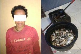 Nekad menyetrum ikan, warga Hakurung Daha Utara diamankan