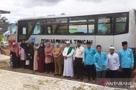 Pemkab Bangka Tengah bantu pesantren satu unit bus