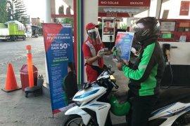 SPBU Surabaya catat 9.800 transaksi nontunai/hari