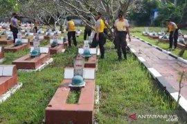 Sambut Hari Bhayangkara, Polres Serang Kota laksanakan korve di TMP