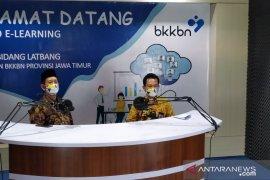 """Dukung program """"Bangga Kencana"""" di masa transisi, BKKBN Jatim luncurkan studio e-learning"""