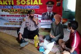 Polres Simalungun bakti sosial di wilayah hukum dua sektor