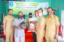 Wakil Bupati Bangka salurkan bantuan 2.363 paket sembako