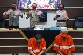 Polisi tangkap dua mahasiswa pengedar ganja