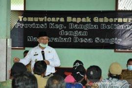 Gubernur Babel resmikan kampung tanggap mandiri Desa Sengir