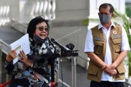 Menteri LHK gelar konpress  rapat terbatas Karhutla