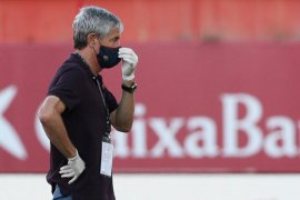 Pelatih Barcelona Quique Setien akui tim asuhannya kehilangan ketajaman