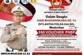 Polda gratiskan SIM untuk pemohon kelahiran 1 Juli