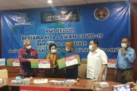 PWI terima sumbangan 50.000 masker dari Gajah Tunggal Group