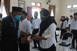Sekda Paser lantik anggota BPD di Kecamatan Muara Komam