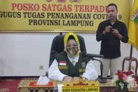 Jumlah pasien sembuh COVID-19 di Lampung bertambah empat