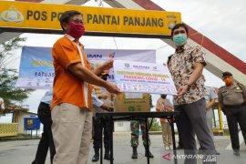Satgas COVID-19 BUMN di Bengkulu salurkan bantuan Rp1,25 miliar