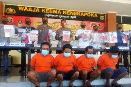 Sindikat penambangan emas dibongkar  Polda Papua Barat