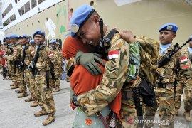 Rama Wahyudi, prajurit TNI gugur dalam tugas di Kongo dapat kenaikan pangkat
