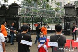 Prarekonstruksi kasus John Kei digelar di Mako Polda Metro Jaya