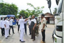 Antisipasi COVID-19, perbatasan Aceh Timur - Langsa diperketat