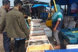 Akibat cuaca buruk, pasokan ikan laut di Lebak menipis