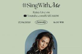 "Penyanyi Raisa ajak penggemar terlibat di konser virtual ""Sing With Me"""