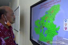 Sembilan kecamatan di Magetan berstatus zona merah