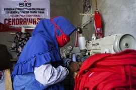 SIG dorong UMKM binaan beradaptasi saat pandemi corona