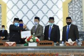 Wali kota Banda Aceh serahkan LPJ 2019 atas raihan opini WTP