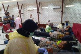 Sambut Hari Bhayangkara, Polres Serang Kota gelar donor darah