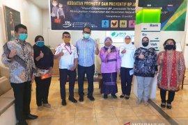 BPJamsostek Cabang Padang Sidempuan donasikan APD ke rumah sakit