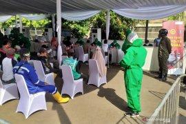 BIN menggelar tes cepat COVID-19 di Kota Bandung