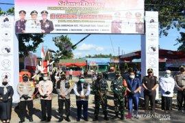Kapolda Kalsel sokong APD dan bibit ikan untuk Kampung Tangguh Banua di Tanah Laut