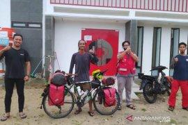 Jelajah nusantara gunakan sepeda, Mahir Abdullah diharap motivasi relawan PMI Babar