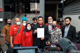 DPD PDIP DKI Jakarta laporkan pembakaran bendera partai ke Polda Metro Jaya