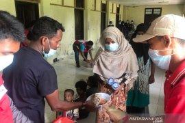 Ini hasil rapid test 99 pengungsi rohingya di Aceh Utara