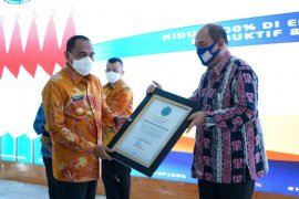 Pemkot Tebing Tinggi terima penghargaan P4GN dari BNN RI