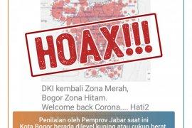 Sri Nowo Ratno: Pesan berantai Bogor zona hitam, hoaks