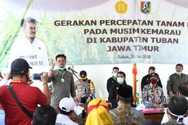 Mentan Syahrul Yasin tegaskan jangan ada lahan menganggur di daerah