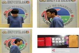 Satresnarkoba Banjarmasin gerebek rumah sopir temukan 50,14 gram sabu-sabu