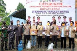 Irjen Nico apresiasi semangat masyarakat Kotabaru wujudkan Kampung Tangguh