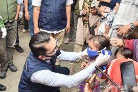 Ridwan Kamil ingatkan pentingnya anak-anak mengenakan masker
