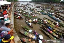 Pemkot Banjarmasin belum izinkan Pasar Terapung dibuka