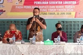 KPU Belitung Timur ingatkan partai politik tidak kampanye akbak