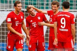Bayern Muenchen pesta gol di markas Wolfsburg untuk menutup musim