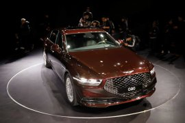 Hyundai  akan luncurkan versi baru Genesis G90