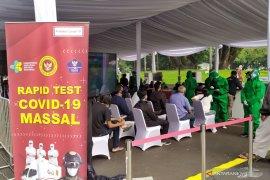 BIN: Hasil tes cepat temukan lima orang positif COVID-19 di Kota Bandung