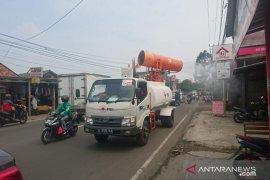 PSBB berakhir, PMI Tangerang gencar lakukan penyemprotan disinfektan