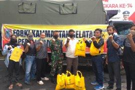 Forki Kalsel bagikan 1500 paket sembako bagi yang terdampak COVID-19